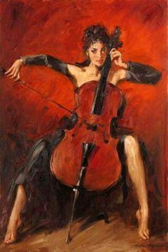 Red Symphony by Andrew Atroshenko