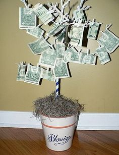 Creative Ways to Give Money Gifts | All About Family Crafts Make Money, Gift Ideas, Gifts, Money Gift, Family Crafts, Diy, Money Trees, Parti
