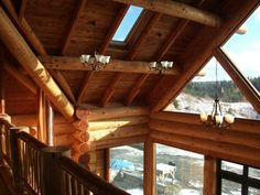 The Most Beautiful Houses in the World: Natural Log Homes, New Zealand