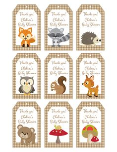 Woodland Friends For
