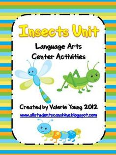 This unit is filled with fun activities for your insects unit! Here is what it includes:- Word Wall- Word Wall Activities- Sentence Writi...