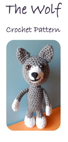 Amigurumi Wolf Free Pattern : Free Amigurumi patterns, crafts on Pinterest