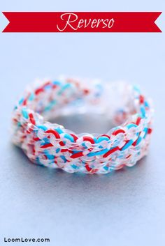 How to Make the Rainbow Loom Reverso. Posted by Loom Love.com