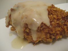Fried chicken and gravy-Trisha Yearwood