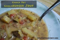 Crock-Pot-Cheeseburger-Soup