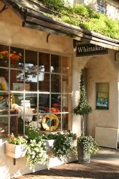 Lovely shops in Carmel, California