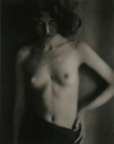 First Nude, 1908.   by Edward Weston