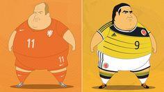 FULVIO OBREGON'S FAT FOOTBALLERS