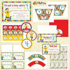 Caillou Birthday Printable Set. $39.99, via Etsy.