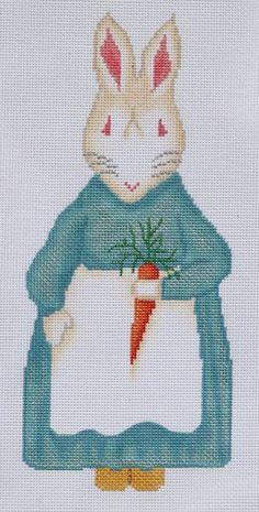 Mrs. Bunny w/ carrot