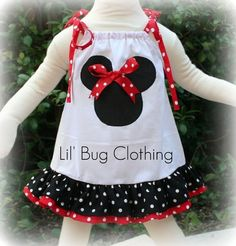 Custom Boutique Clothing Minnie Mouse Dress on Etsy, $32.00