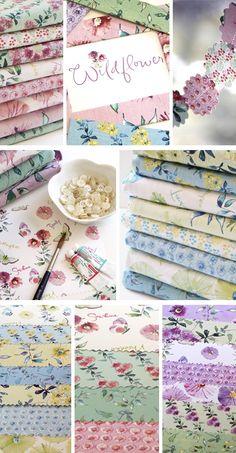 Wildflower Fabric Collection Kathy Davis