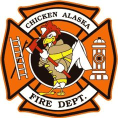 Chicken Fire Department logo