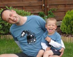Takie same bluzki dla taty i syna/ matching outfit for father and son  www.tybopi.pl