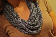 Rope Scarf  #accessories #scarf #scarfnecklace