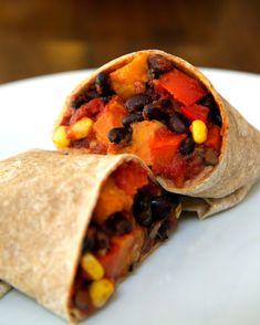 mexican dinners, bean burrito, black beans, roast sweet, dinner recipes