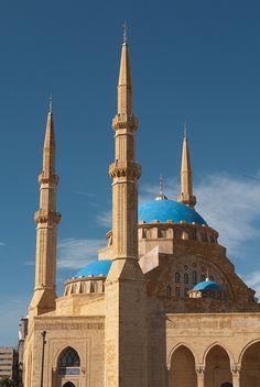 Mosque, Beirut Lebanon.