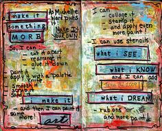 Cool Art Therapy Intervention #4: Visual Journaling arttherapi