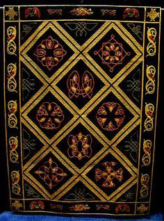 Celtic knot Japanese quilt