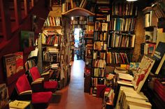 Shakespeare and Company, a famous bookshop in Paris