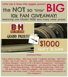 come enter this great giveaway