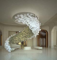 Lobby of Hotel Georg