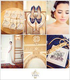 Fairmont Hotel Vancouver: Styled Wedding Inspiration Nautical Wedding