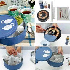 Lata para infusiones #recicle #DIY #can #tea