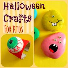 Halloween crafts for kids - easy fun projects kids will enjoy