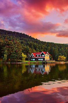 Lake Abant, Turkey