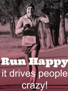 runner girl, happi, run happy