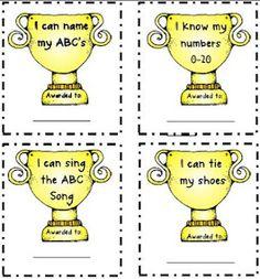 Kindergarten Awards {freebie}