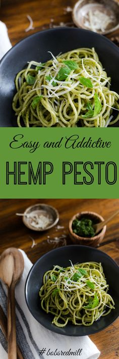 Hemp Pesto- easy, ad