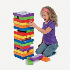 Giant Stacking Game - OrientalTrading.com