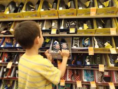 Shopping for special needs Shoes