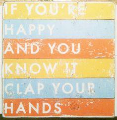 hand, sunday school, schools, happi, rustic signs, kid rooms, clap, pallet art, vacation bible school
