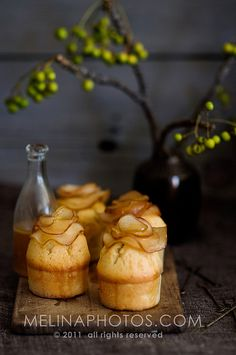maple pear cakes by mwhammer, via Flickr