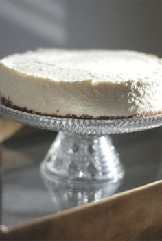 cheesecak recip, cake plates, cheesecake recipes, spring cheesecak