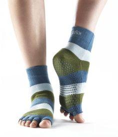 Cute toeless toesocks - I'm thinking yoga, pilates and Les Mills BodyFlow
