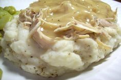 Simple Crock Pot Chicken. Photo by Chef shapeweaver �