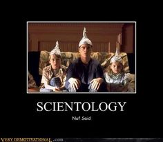 Scientology.