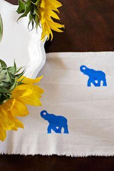 fabric paint, pattern, tulip fabric, stencil