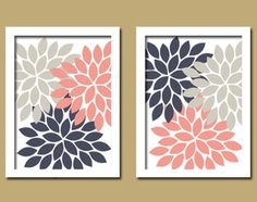 white, grey and navy nursery - Cute to paint in burlap and include red instead of pink for boys room