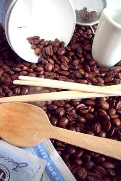 Coffee Themed Sensory Tub
