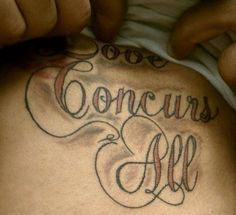 EPIC FAIL tattoo misspelling - holy crap.