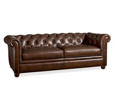 Chesterfield Leather Sofa | Pottery Barn