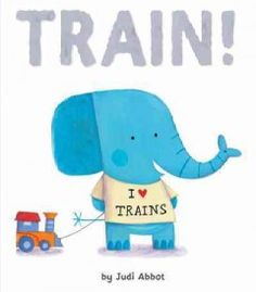 Friday, August 15, 2014. A train-loving baby elephant is excited to go on a real train, but when the other baby animals want to play with different vehicles, he becomes upset, until he tries some of the other toys for himself.