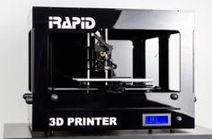 3ders.org - iRapid launches new desktop model BLACK 3D printer   3D Printer News & 3D Printing News