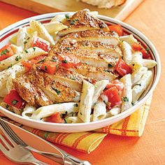 We love Chili's flavorful Southwestern fare. One of the most satisfying dishes is the spicy, creamy Cajun Chicken Pasta. Order a bowl tonight, or try our easy version at home.