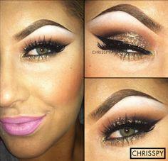 Sparkly Eyes - DIY Glamorous Make-up Youtube Tutorials